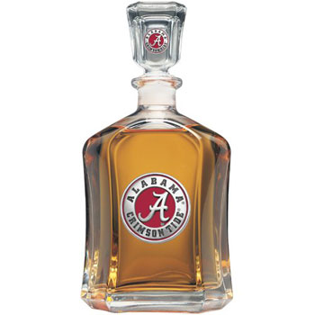 Athletic Seal Medallion Decanter