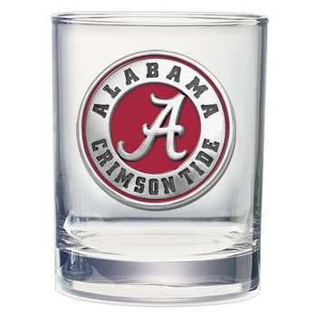 Athletic Seal Double Old-Fashioned Glass