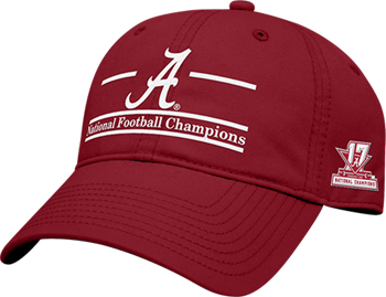 2017 National Champs Split-Bar Cap - Crimson