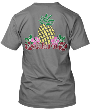 Aloha Pineapple Comfort Colors Short Sleeve Tee
