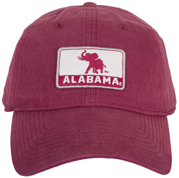 Pachyderm/Alabama Patch Unstructured Cap