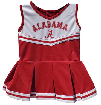 Alabama Cheerleader Outfit