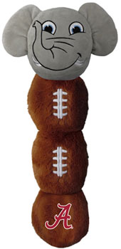 Big Al and Football Squeak Dog Toy