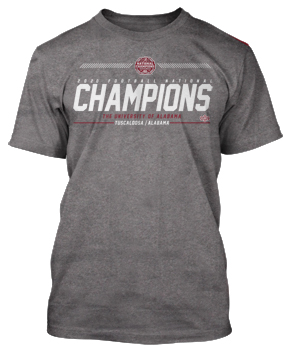 National Champs Hashmark Tee