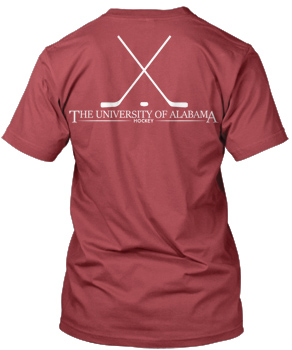 Alabama Hockey Comfort Colors Tee
