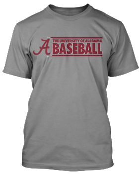 2017 Alabama Baseball Tee