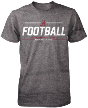 Hash Mark Alabama Football Tee