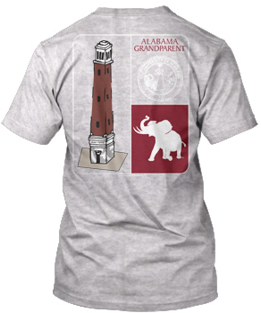 Alabama GRANDPARENT 4-Panel Tee