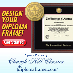 Design your own Diploma Frame