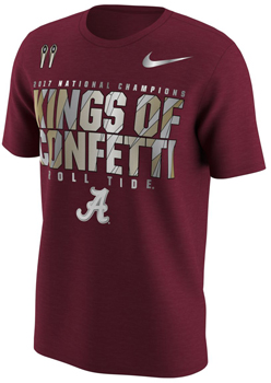 National Champs Locker Room Tee  - Crimson