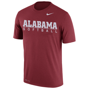 NIKE Dri-FIT CottonAlabama Softball Bar Tee